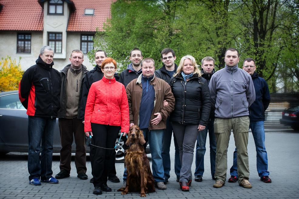 Pracownicy Perspektywy Kraków