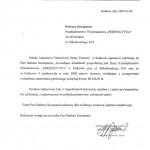 Szkoła Aspirantów Straży Pożarnej - Perspektywa Kraków referencje